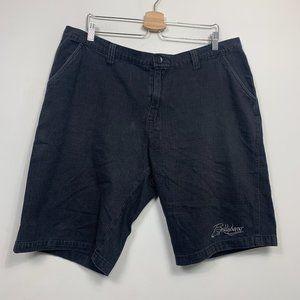 Vintage Billabong Casual Shorts Blue Flat Front